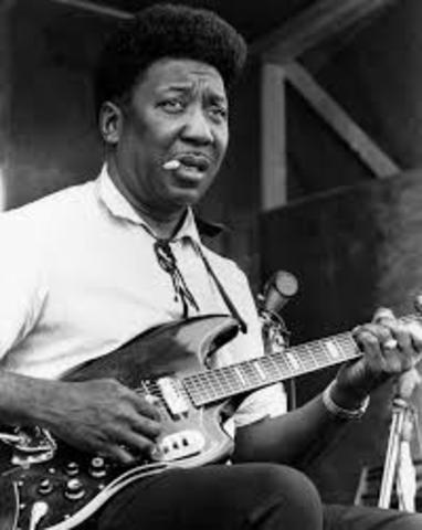 """Muddy Waters records """"I Can't Be Satisfied"""