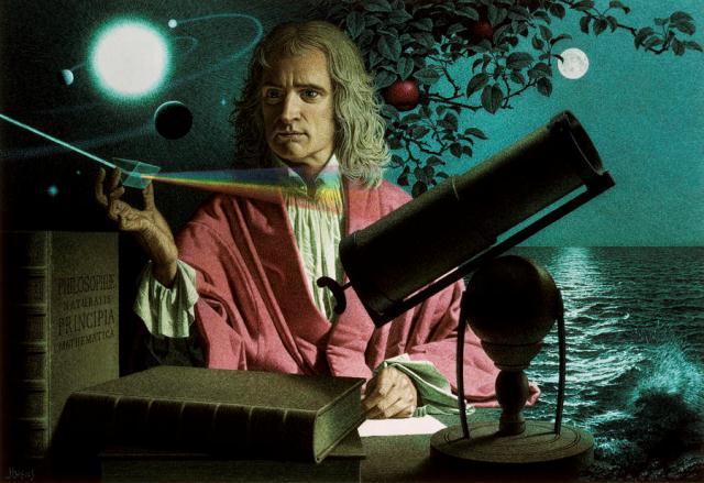 (Sir) Isaac Newton
