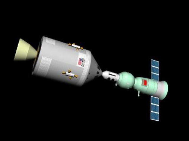 Apollo Soyuz Launch