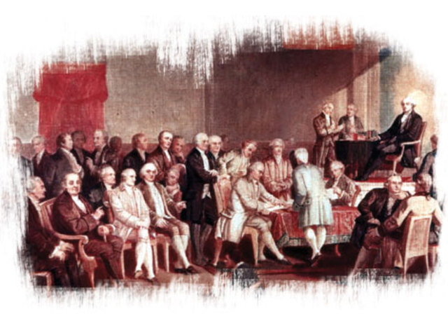 Signing o fthe Constitution