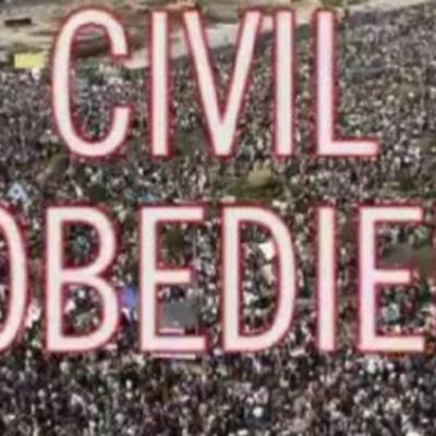 Civil Disobedience timeline