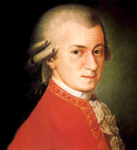 Mozart born
