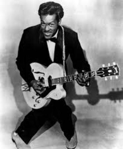 Debut of Chuck Berry
