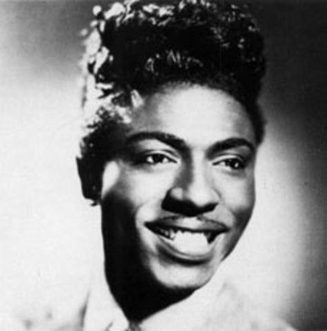 Debut of Little Richard