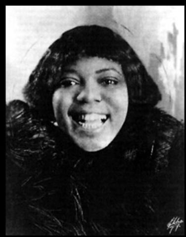 Bessie Smith's born