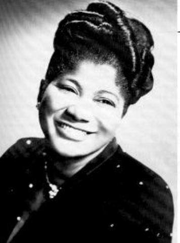 Mahalia Jackson born