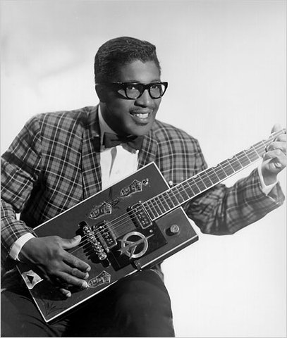 Debut of Bo Diddley