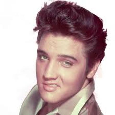 Elvis Presley born