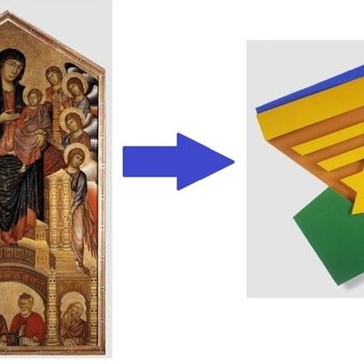 Gothic Art through to Minimalism  timeline