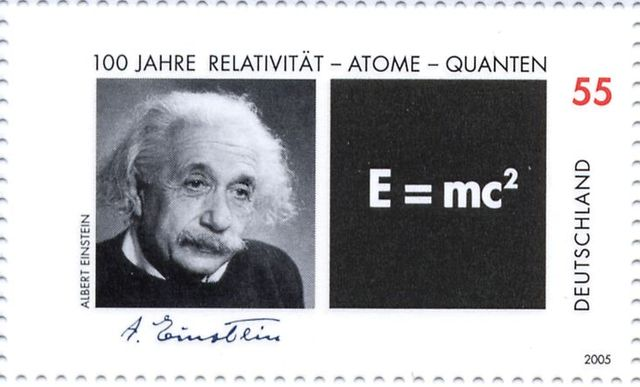 A German stamp issued in 2005