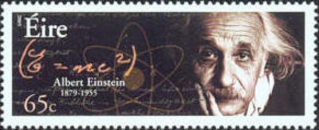 Einstein stamp issued in Ireland
