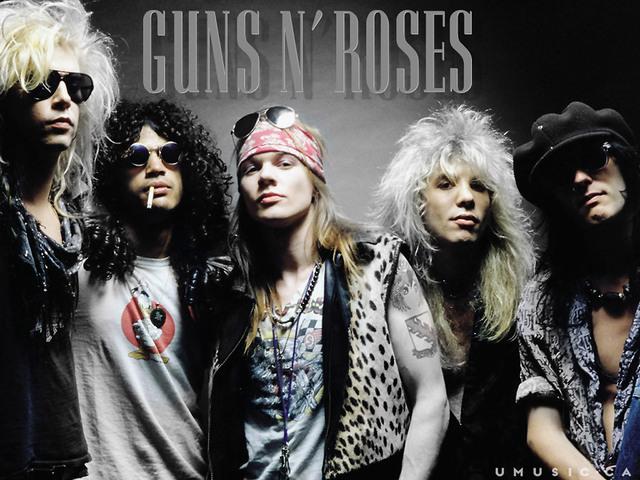 6.3.1 GUNS N' ROSES