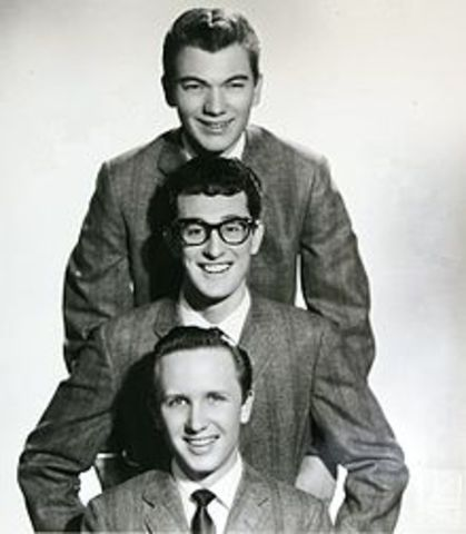 Debut of Buddy Holly and the Crickets