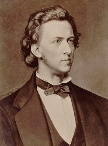 Frederic Chopin born