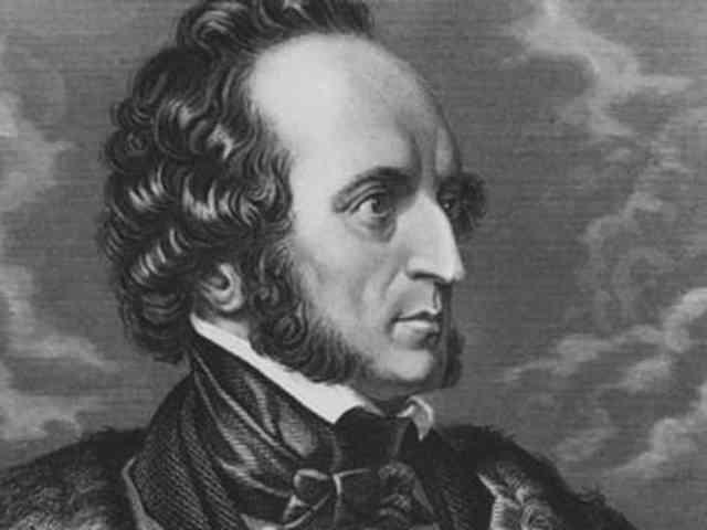 Felix Mendelssohn born