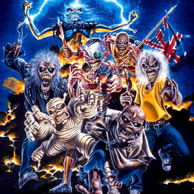 Iron Maiden a través del tiempo timeline