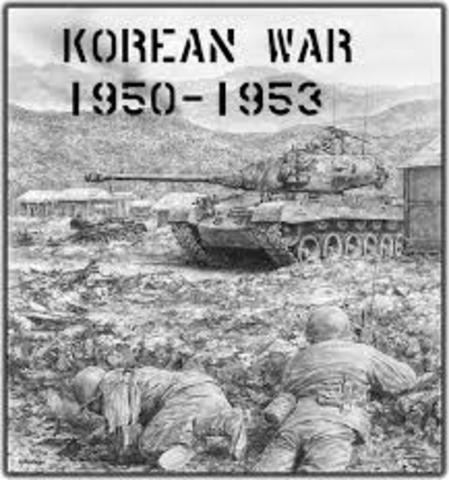 the korean war set about throughout 1950 the moment the