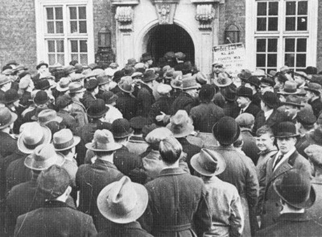 Krisen i 30erne timeline   Timetoast timelines