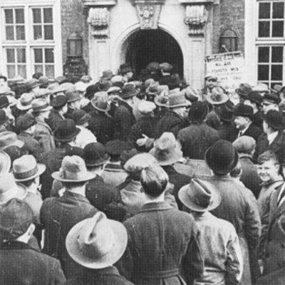Krisen i 30erne timeline