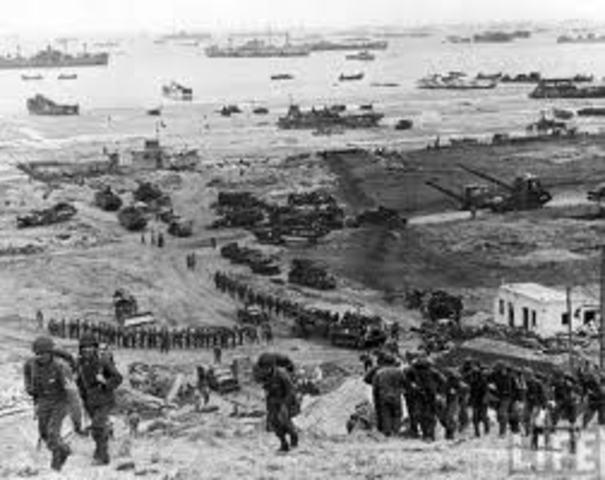 Desembarco de Normandía (Francia)
