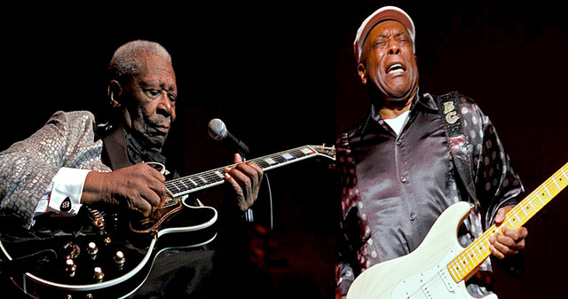"""BB King and Buddy Guy release """"One Kind Favor""""  and """"Skin Deep"""""""