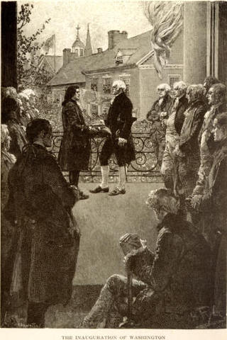 First President was sworn in ao ingaurated