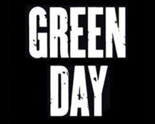 Changed name to Green Day
