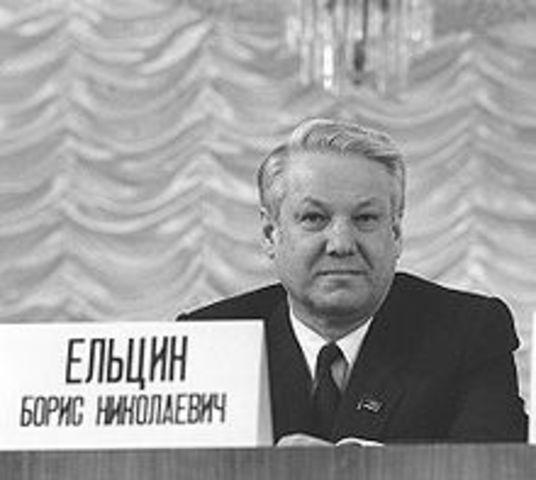 Yeltsin Elected