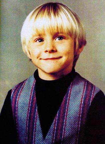 Born Kurt Donald Cobain