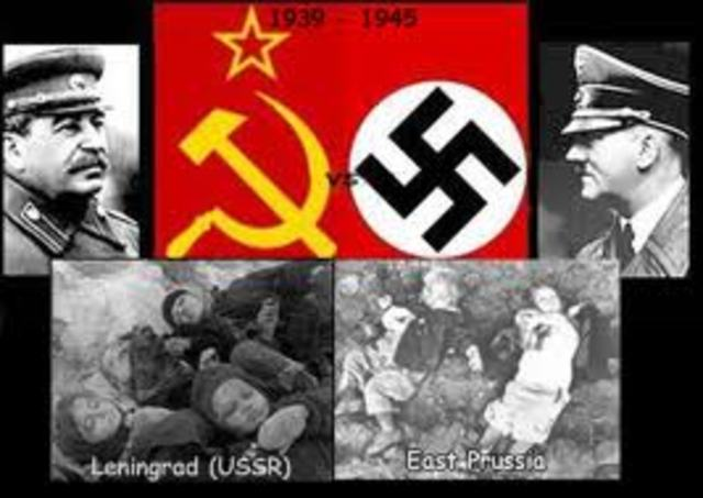 the war between nazism and bolshevism essay War communism was an economic policy the bolsheviks had created to meet the  demands of war from 1918-1921 it forced manpower to either.