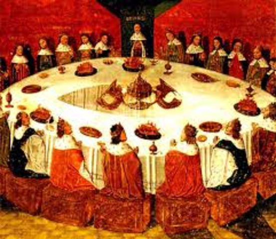 Creation of the Knights of the Round Table