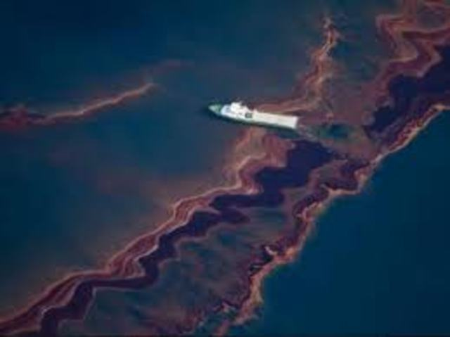 2nd largest oil spill