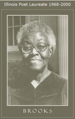 Brooks is named Poet Laureate of Illinois