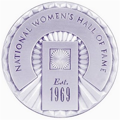 Brooks is inducted into the Woman's Hall of Fame