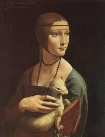 Leonardo out-paints his teacher