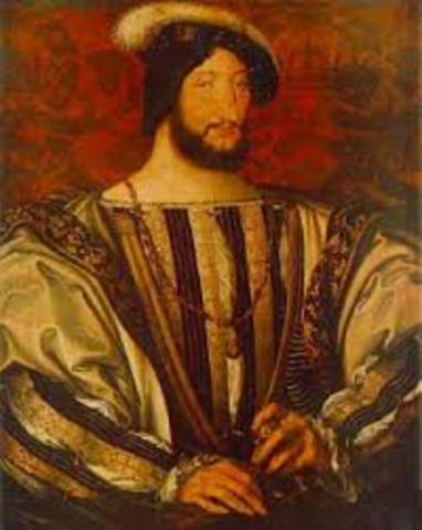 Leonardo is invited by the King of France