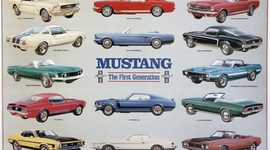Evolution of TheFirst Generation Mustang timeline