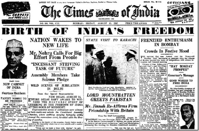 Image result for india became independent of