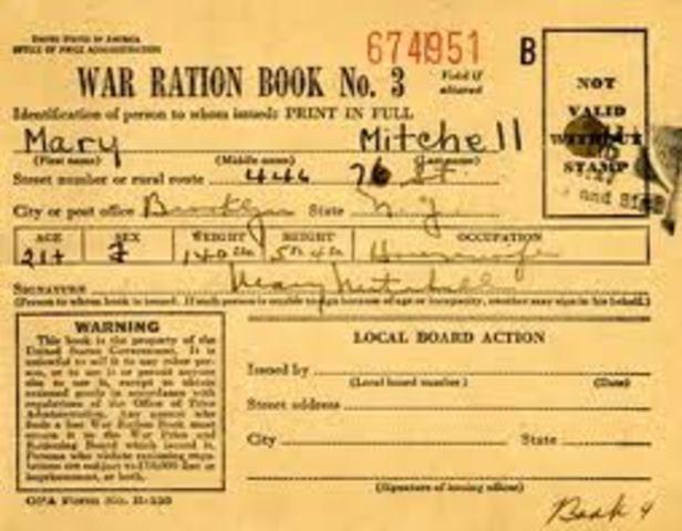 Ration Book to Pub & Print