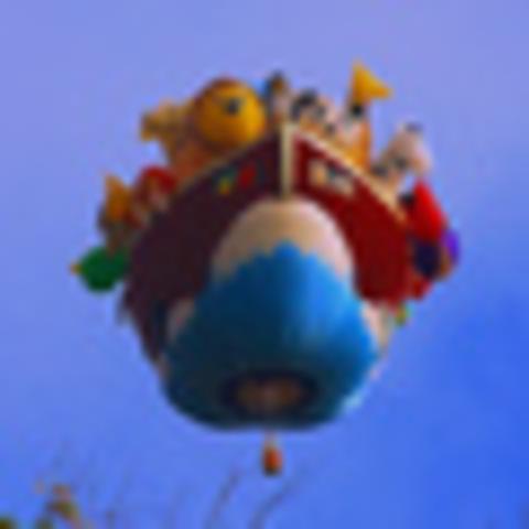 First Hot air Ballon
