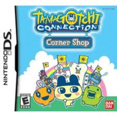 """Tamagotchi Connection: Corner Shop"" game for Nintento DS"