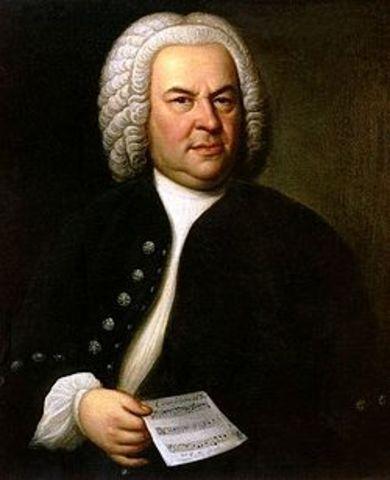 J.S. Bach is born