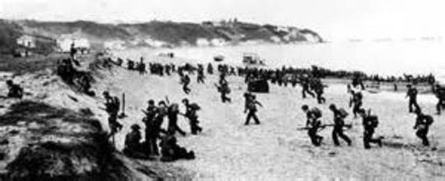 Allies invade North Africa