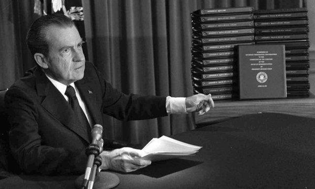 House subpoenas Nixons tapes