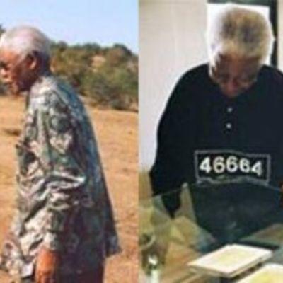The Story Nelson Mandela timeline