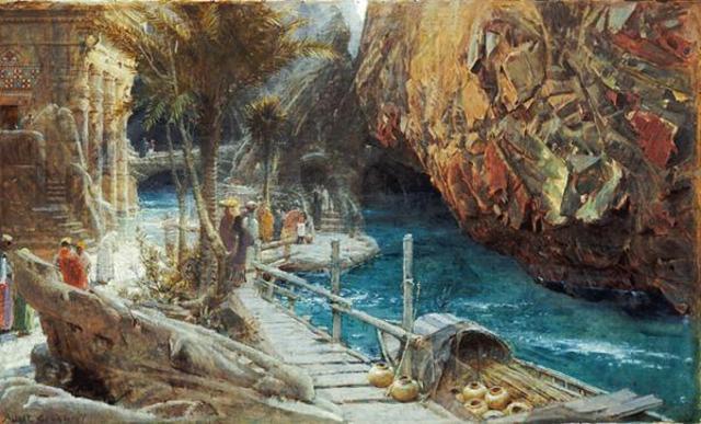 """""""Kubla Kahn"""" composed, S.T. Coleridge"""