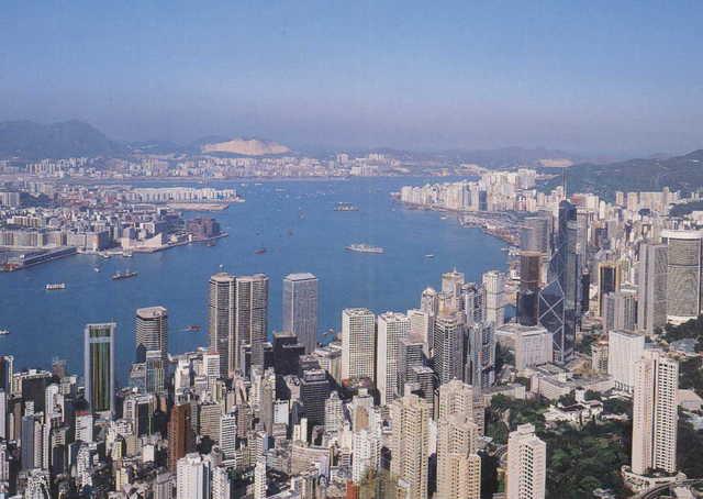 I came to HongKong.