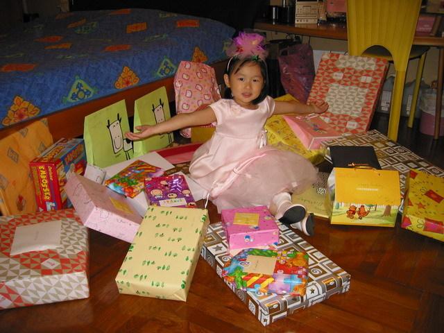 My eight birthday