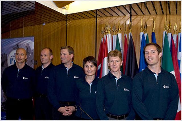 Astronautes de la ESA