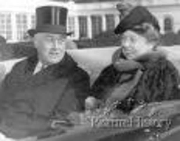 FDR Marries Anna Eleanor Roosevelt